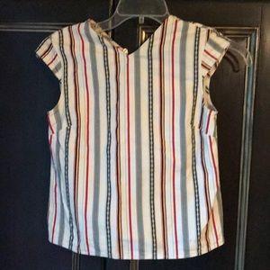 Kate Spade Saturday striped blouse top